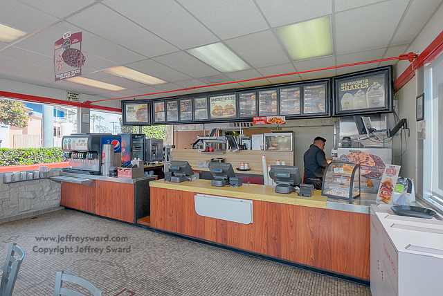 Arby's Restaurant Orginal Design, Huntington Beach, California photograph by Jeffrey Sward