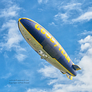 Goodyear Blimp Airship Operations Carson California Photograph by Jeffrey Sward